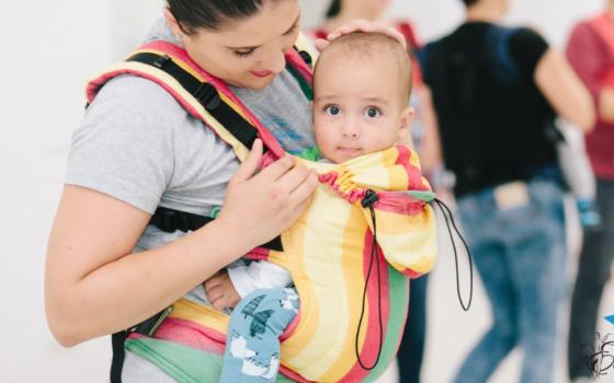 Sărbătoare la cursul de dans cu bebeluși